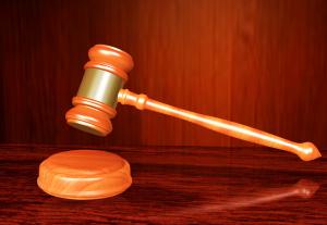 Juridisch rechtbank hamer