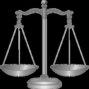 Symbool Justitie