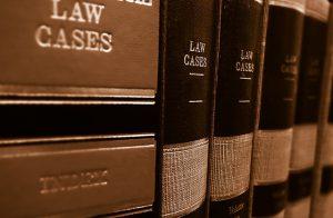 Wetboeken boekenkast