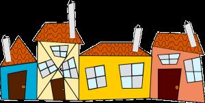 Overbouw huizen daken