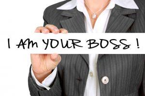 Ik ben jouw baas