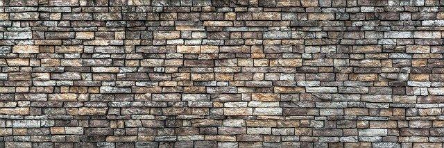 Scheidsmuur erfafscheiding stenen muur