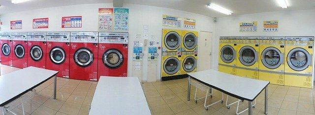 Wasmachines drogers wasserette
