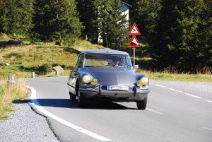 Oldtimer auto Citroen DS