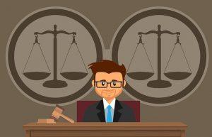 Rechter rechtbank rechtspraak