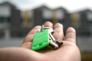 Huurwoning sleutels